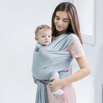 Слинг - шарф Love & Carry LC413, Серебро, серебряный