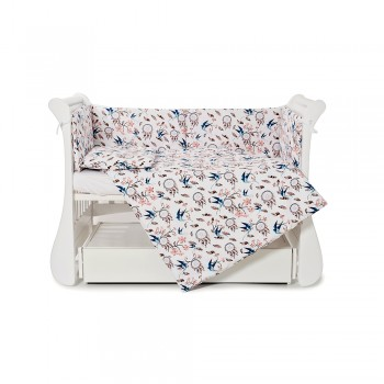 Бампер Twins Comfort line 2054-С-069, Ловец снов, фиолетовый