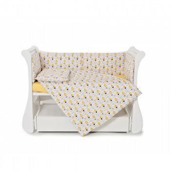 Сменная постель 3 эл Twins Comfort line 3054-C-071, Собачки, белый / черный