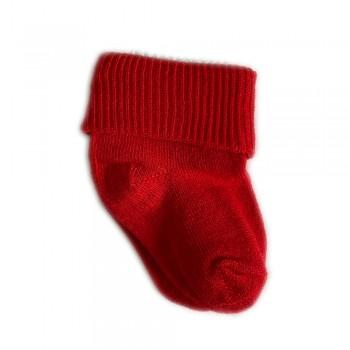 Шкарпетки бавовняні 0-3 м red, червоний, 0-3