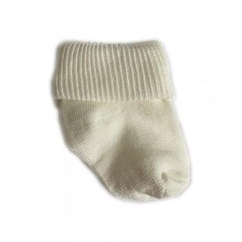 Шкарпетки бавовна 0-3 м white, білий, 0-3