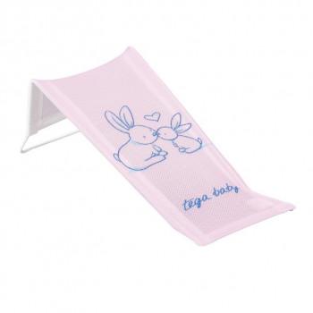 Горка для купания 3D мембрана Tega KR-026 Кролики KR-026-104, pink, розовый