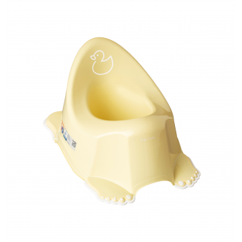Горшок Tega PO-070 Уточка музыкальный антискол PO-070-132, yellow, желтый