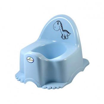 Горшок Tega Eco PO-056 Динозаврик музыкальный PO-056-135, light blue, свет голубой