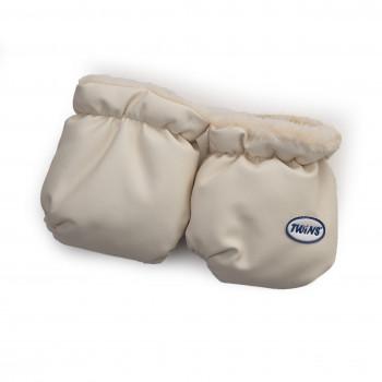 Перчатки Twins эко-кожа 80-191-02, beige, бежевый