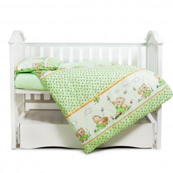 Сменная постель 3 эл Twins Comfort 3051-C-009 Медун зеленые, зеленый