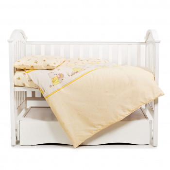 Сменная постель 3 эл Twins Comfort 3051-C-010, Медун желтые, желтый