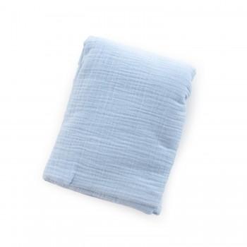 Пеленка Twins муслиновый 120х100 2-х слойная 1610-PM-04-120x100, blue, голубой