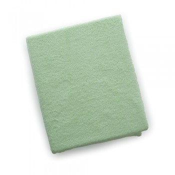 Наматрасник Twins влаго- непроницаемый на резинке махровый 120х60 6040-19, green, салатовый