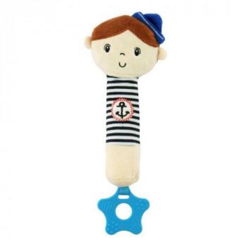 Плюшевая игрушка для руки Baby Mix STK-18869 Моряки STK-18869 B, boy, белый / синий