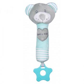 Плюшевая игрушка для руки Baby Mix STK-19392B Мишка STK-19392 MB, mint, м