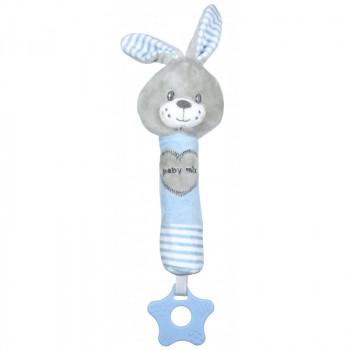 Плюшевая игрушка для руки Baby Mix STK-19392R Кролик STK-19392 BR, blue, голубой