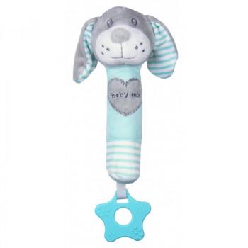 Плюшевая игрушка для руки Baby Mix STK-19392D Собачка STK-19392 MD, mint, м