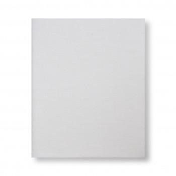 Простыня на резинке Twins 145x75 сатин 6012-01, white, белый