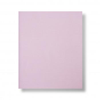 Простыня на резинке Twins 145x75 сатин 6012-08, pink, розовый