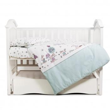 Сменная постель 3 эл Twins Sweet 3053-SW-011, Forest mint, мятный
