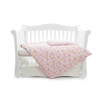 Сменная постель 3 эл Twins Comfort line 3054-C-052, Цветочек, розовый