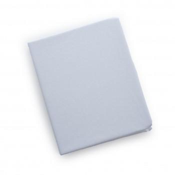 Простыня на резинке Twins 120x60 бязь 6010-01-01, white, белый