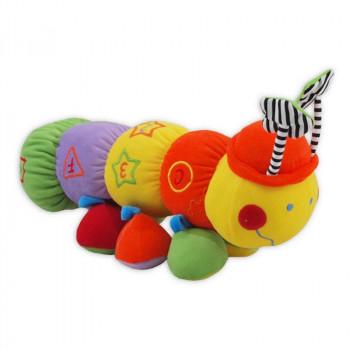 Плюшевая игрушка Baby Mix TE-9117-32 Сороконожка TE-9117-32, mix, мультиколир