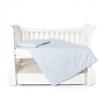 Сменная постель 3 эл Twins Dolce Insta 3060-DINS-04 Blue, голубой