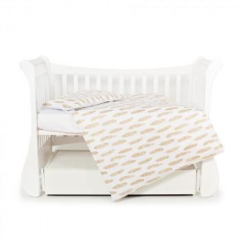 Сменная постель 3 эл Twins Dolce Insta 3060-DINS-02 beige, бежевый