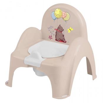 Горшок кресло Tega PO-073 Лесная сказка музыкальный PO-073-111, beige, бежевый