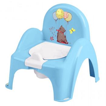 Горшок кресло Tega PO-073 Лесная сказка музыкальный PO-073-108, blue, свет голубой