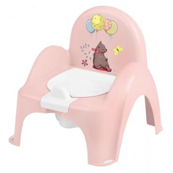 Горшок кресло Tega PO-073 Лесная сказка музыкальный PO-073-107, pink, светло розовый