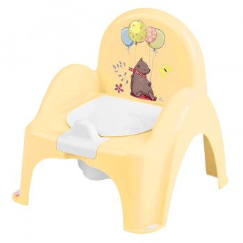 Горшок кресло Tega PO-073 Лесная сказка музыкальный PO-073-109, yellow, желтый
