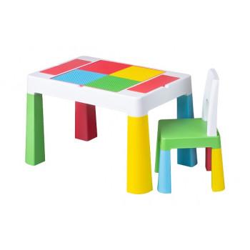 Комплект стол и стул Tega MF-001 Multifun 1 + 1 multicolor, мультиколир