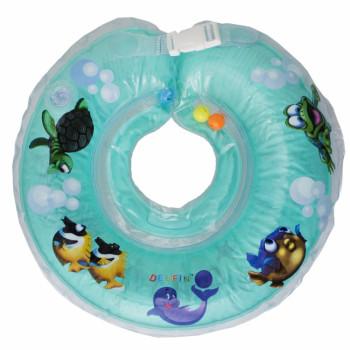 Круг для купания Дельфин 1111-KD-03 turkus, бирюза
