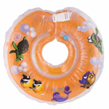 Круг для купания Дельфин 1111-KD-18 orange, оранжевый