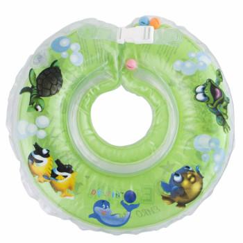Круг для купания Дельфин 1111-KD-06 green, зеленый