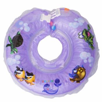 Круг для купания Дельфин 1111-KD-11 violet, фиолетовый