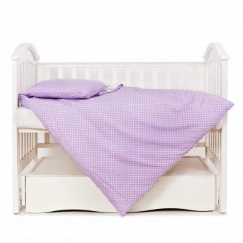 Сменная постель 3 эл Twins Premium Птички 3029-P-11 fiolet, фиолетовый