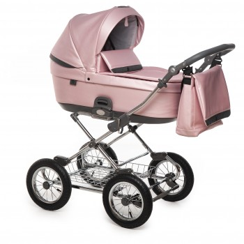 Коляска Roan Bloom Classic 9023-RCB-Pink Pearl, Pink Pearl, розовый