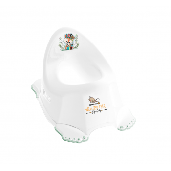 Горшок Tega DZ-001 Дикий запад DZ-001-103 Fox, white / green, белый / зеленый