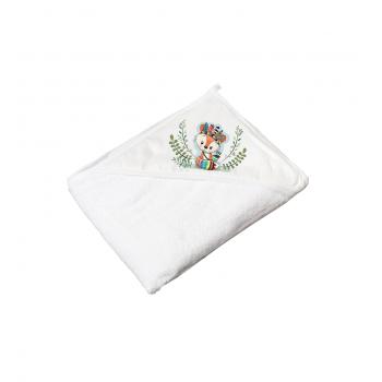 Полотенце Tega DZ-008 Дикий запад 100х100 DZ-008-103 Fox, white, белый