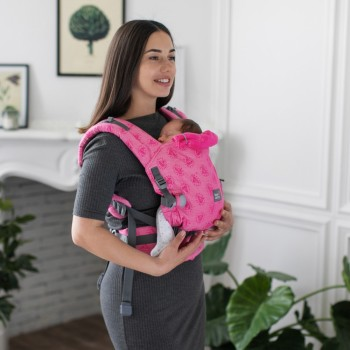 Эрго - рюкзак Love & Carry One LC522, Пион, розовый