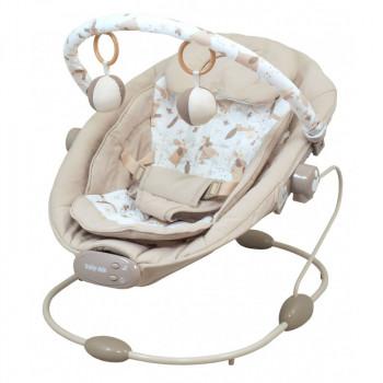 Лежак Baby Mix BR245 BR245-2GREY, grey, серый