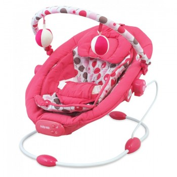 Лежак Baby Mix BR245 BR245-2PINK, pink, розовый