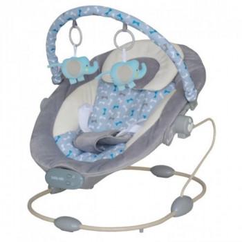 Лежак Baby Mix BR245 BR245-3GREY, grey, серый