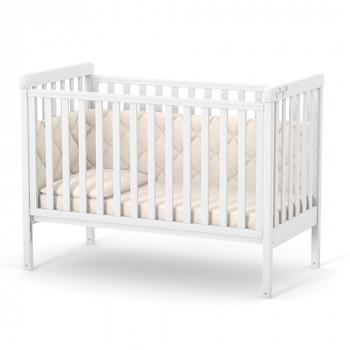 Кроватка Верес ЛД12 без колес без ящика 12,1,1,7,06, белый, белый