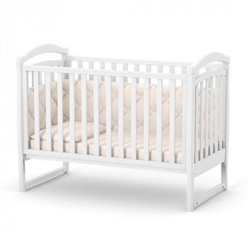 Кроватка Верес ЛД6 без колес без ящика 06.1.1.1.06, белый, белый