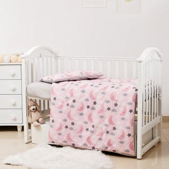 Сменная постель 3 эл Twins Premium Glamour Limited 3064-PGNEWN-08 Ноченька розовая, розовый