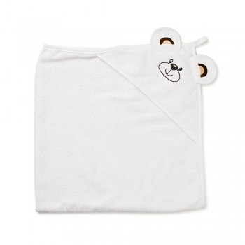 Полотенце Twins Мишка 100x100 1500-TANV-01 White, белый