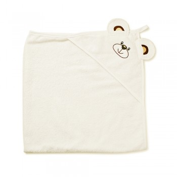 Полотенце Twins Мишка 100x100 1500-TANV-02 beige, бежевый