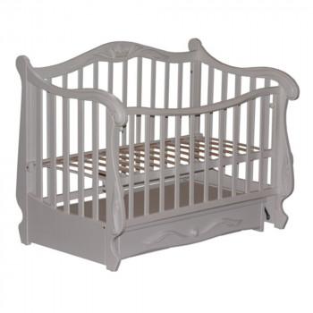 Кровать Колисаны Корона белый, белый