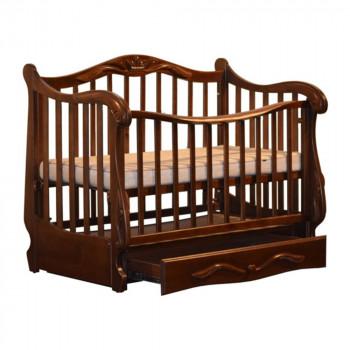 Кровать Колисаны Корона орех, коричневый