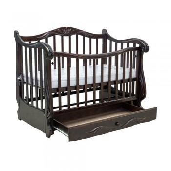 Кровать Колисаны Корона шоколад, коричневый